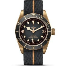 Tudor Heritage Black Bay Bronze Blue Bucherer 79250BB