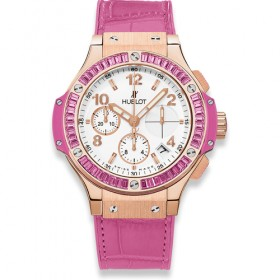 Hublot Big Bang 41mm Chronograph Tutti Frutti Rose 341.PP.2010.LR.1933
