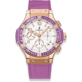 Hublot Big Bang 41mm Chronograph Tutti Frutti Purpule 341.PV.2010.LR.1905