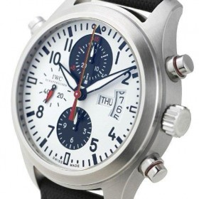 IWC Pilot's Watch Spitfire Double Chronograph German National Football Team 500 Special Limited Edition Ref. IW371803