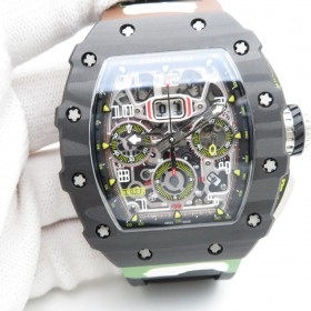 Richard Mille RM 011-03 Flyback Chronograph Carbon NTPT