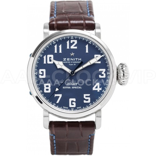 Zenith Pilot Type 20 Extra Special Blue Vegas Watch Guy Арт. 956