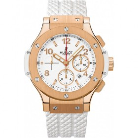 Hublot Big Bang Evolution Gold All White Chronograph