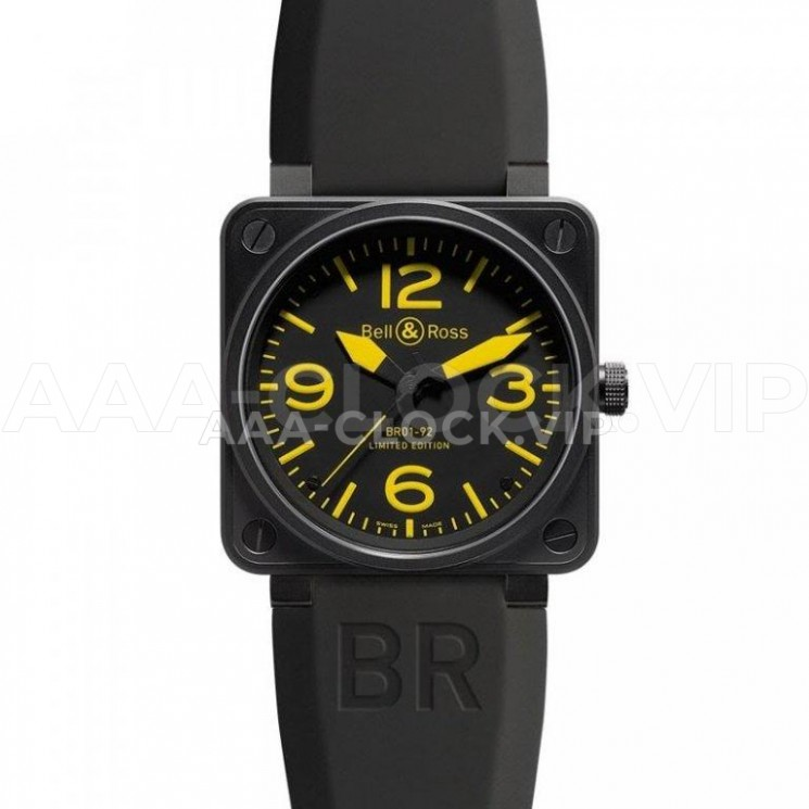 Bell & Ross BR 01-92 Carbon Yellow Арт. 1056
