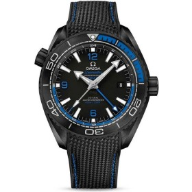 Omega Seamaster Planet Ocean GMT Deep Black
