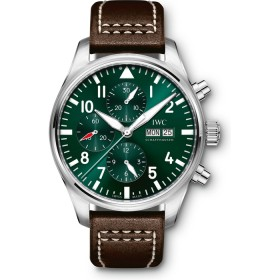 IWC Pilot Watch Chronograph Racing Green